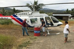 Helicopter Ride to Simpang