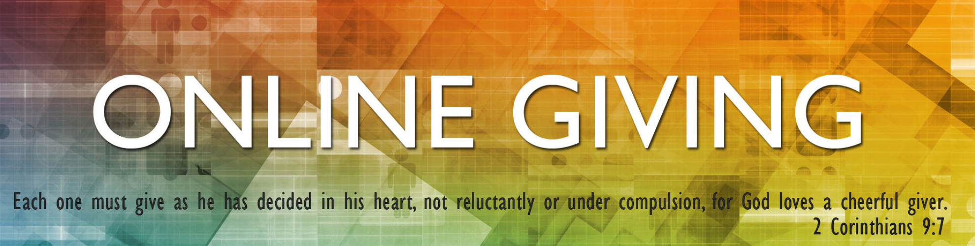 Online Giving Banner
